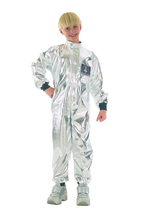 Boys Astronaut Budget Childs Costume NASA Space Pilot Fancy Dress Outfit